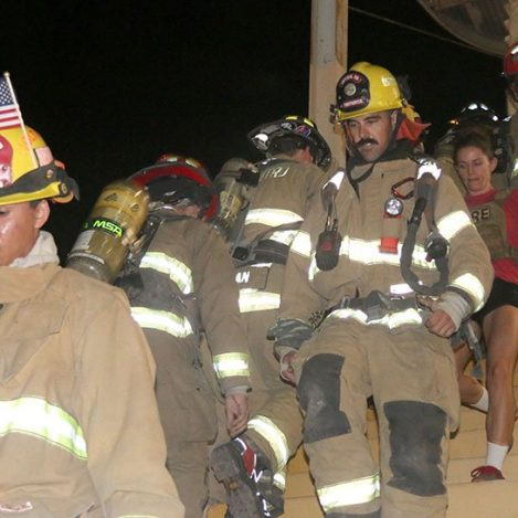 9/11 Firefighters Honored at Stair Climb Event