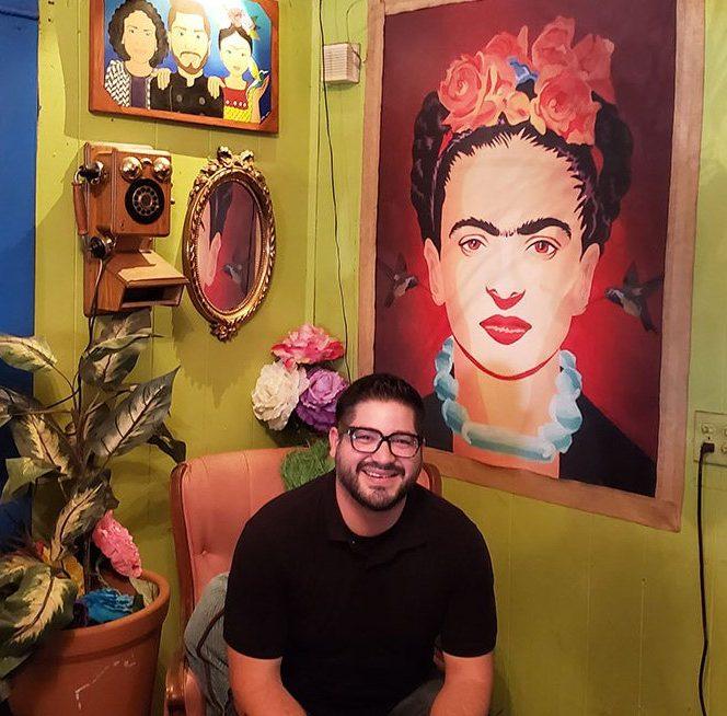 Owner of Hope Café's Owner, Manuel Guerra