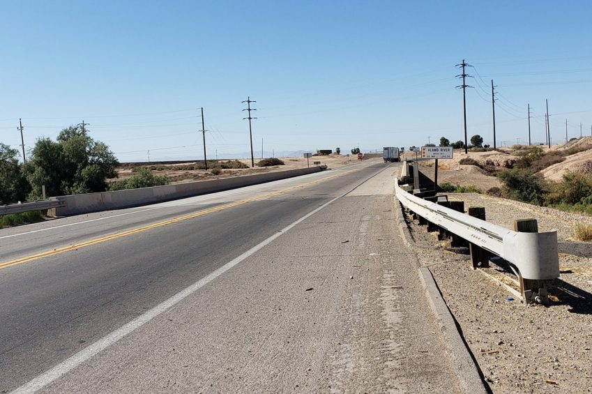 State legislation has named this bridge on State Route 115 just west of Holtville in memory of U.S. Marine Cpl. Erik Silva