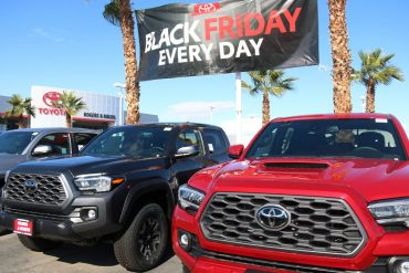 Dealers, Car Deals for Black Friday