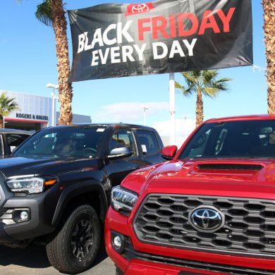Dealers, Car Deals for Black Friday