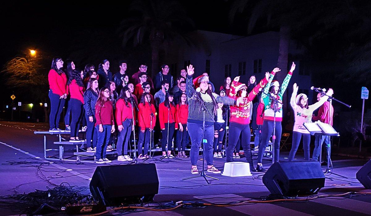 Central High Choir performs