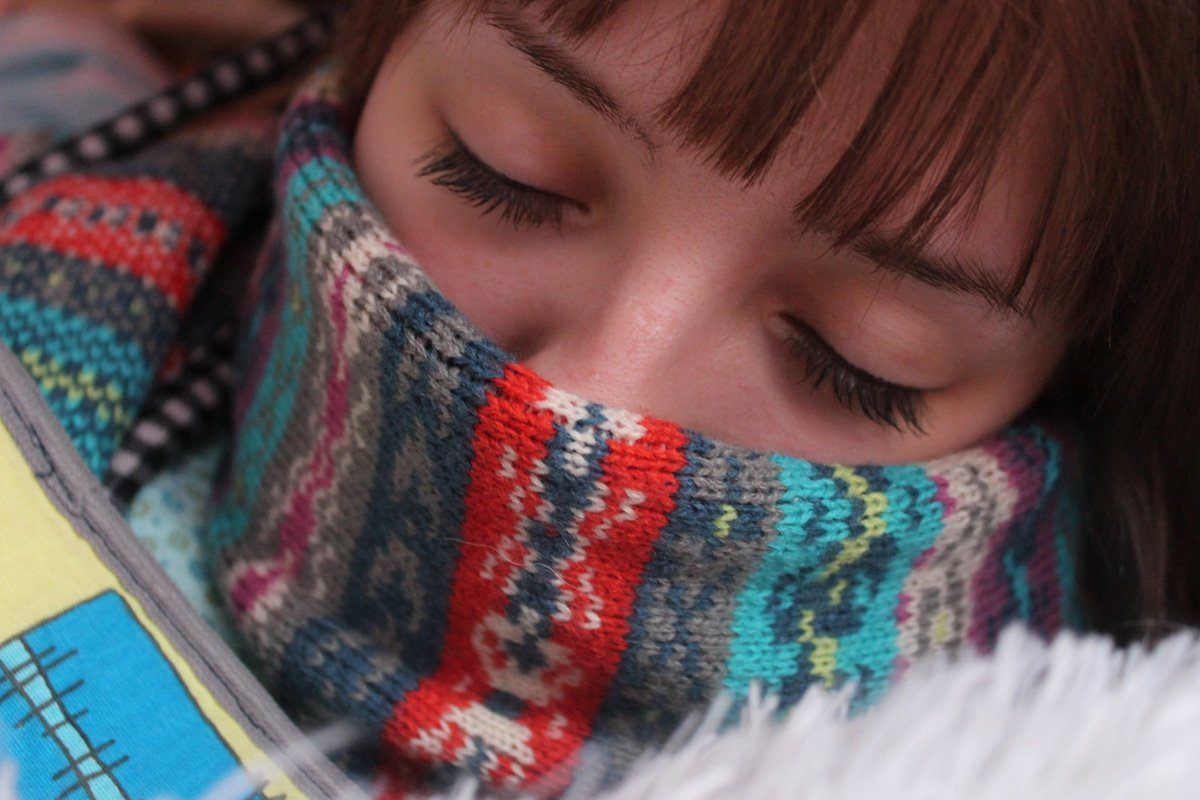 The flu, and unwanted gift of the season