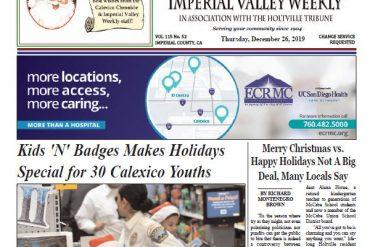 Calexico Chronicle e-Edition 12-26-19