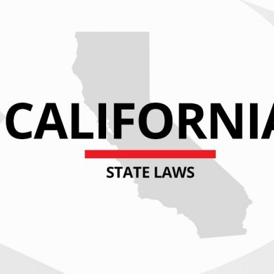 New California State Laws Affect Every-day Life