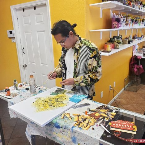 El Centro-Based Artist Paints With a Purpose