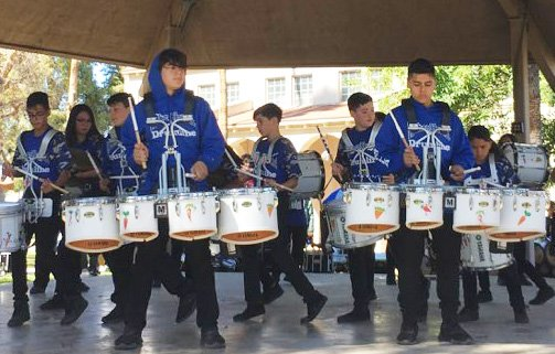 Bands Perform Parade Encore in Competition