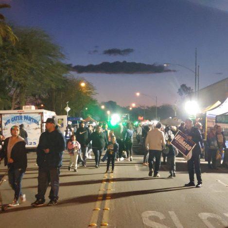 Mardi Gras Parade and Festival Light Up El Centro