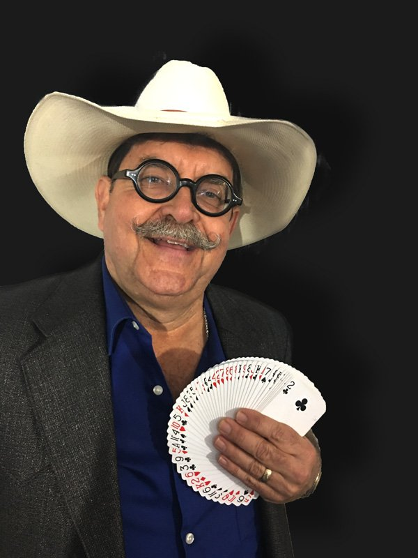 Godfrey The Magician Makes Laughter Appear at Fair