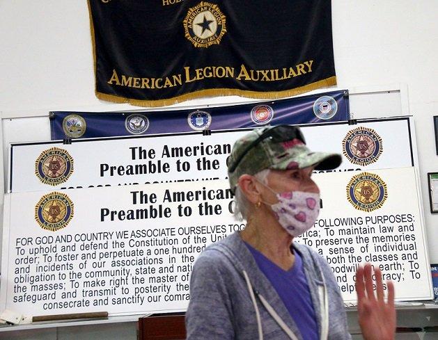 Holtville's Bradley-Keffer Aux Unit 138 Makes Masks