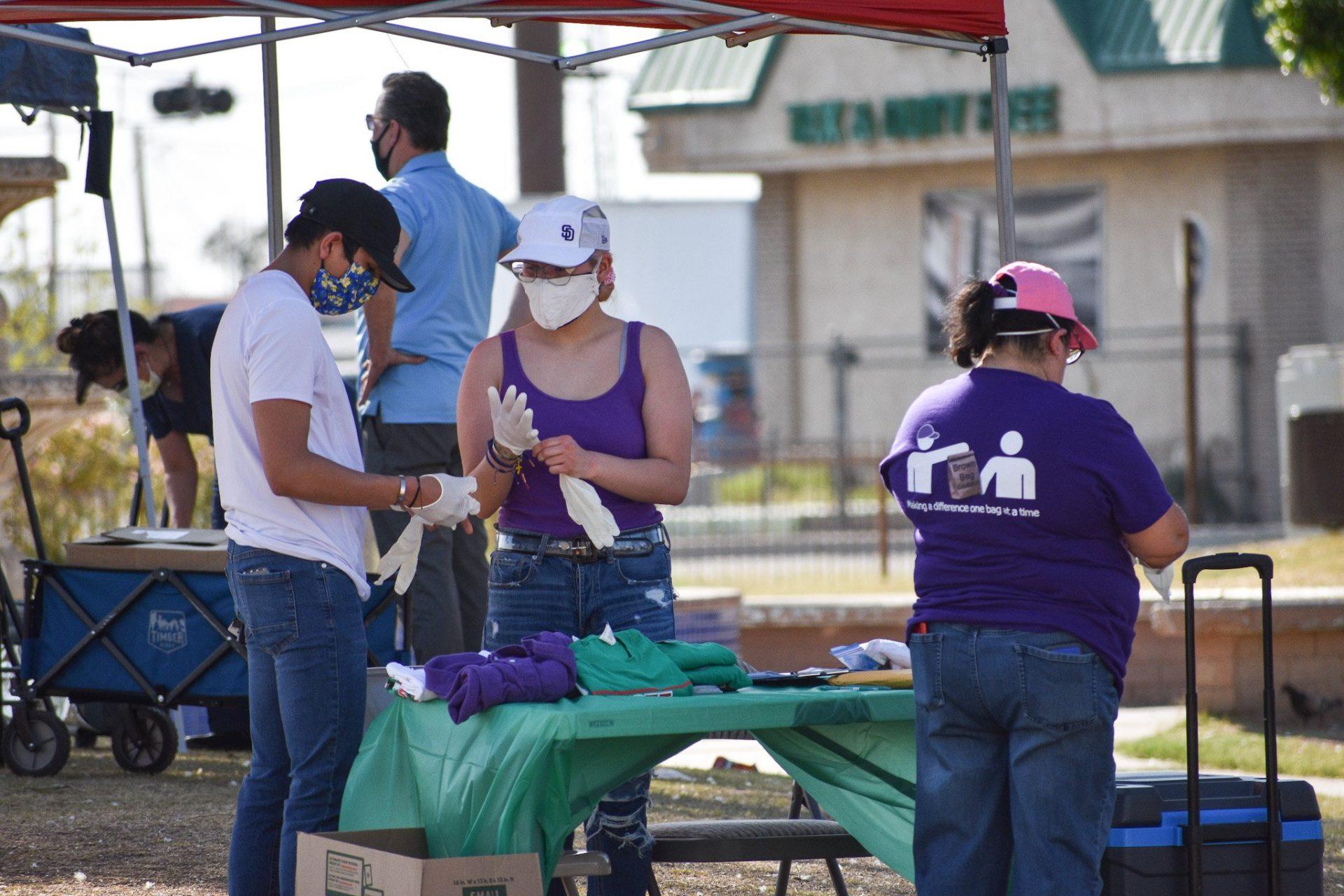 Wellness Center Tests Calexico Homeless For COVID