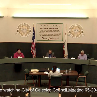 Calexico Splits Community Services Department