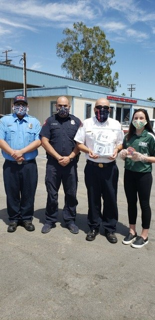 4-H Ambassadors Make Masks During Quarantine