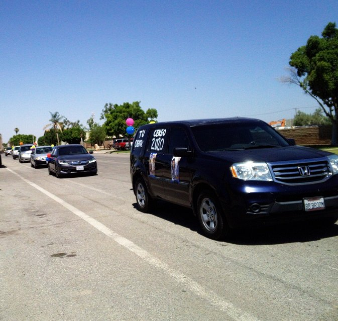 Car Caravans Gear Up Residents for Census Push