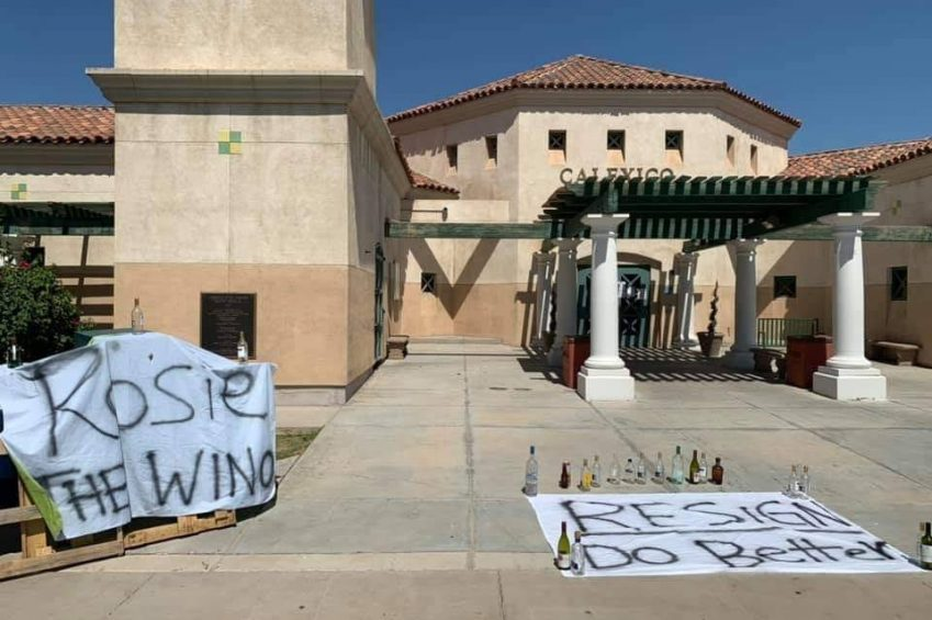 'Protests' Against Mayor, City Appear Around Town July 4th Weekend