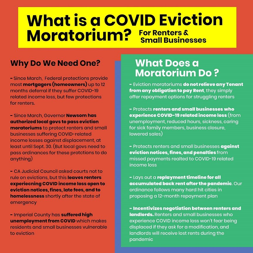 Calexico Will Get First Airing of Eviction Moratorium
