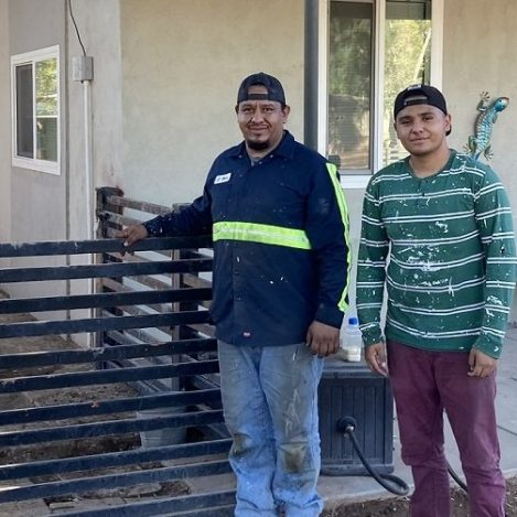 Building a Fence, Building a Relationship
