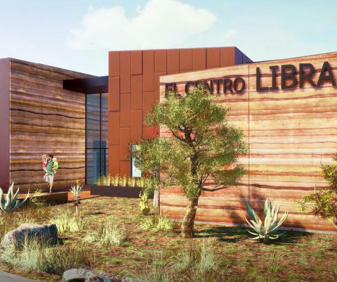 El Centro Library Building Closer to Construction